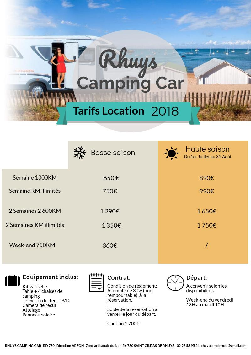 Camping Car Rhuys