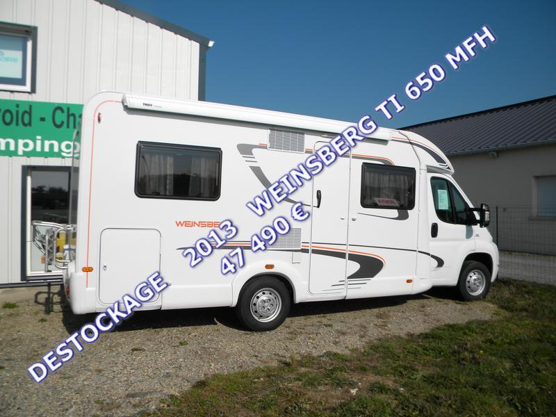 rhuys camping car weinsberg ti 650mfh. Black Bedroom Furniture Sets. Home Design Ideas